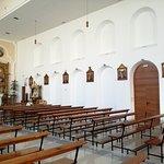 vista de un lateral de la iglesia
