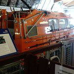 Inside Selsey Lifeboat Station