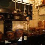 Wagon Lits coach Kitchen compartment