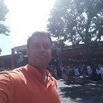 Selfie at the Stockyards