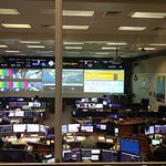The mission control center