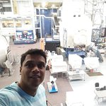 Selfie at the space center