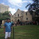 At he Alamo