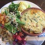 Green lentil + veg shepherdess pie