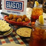 We proudly support the USO