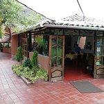 entrada al restaurant