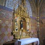 Inner hidden chapel area
