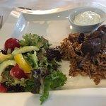 The lamb kebab, it was just okay