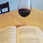 Red Wine and Reading at Great Shoals Cellars