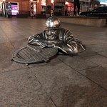 Фотография Памятник Сантехнику Степанычу