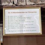os 10 mandamentos do chimarrão