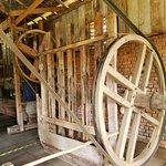 Máquinas antigas usadas para macerar a erva mate