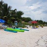 Foto de La Playa Xpu Ha Restaurant & Beach Club