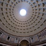 Front and inside of Pantheon
