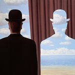 Lugano, Magritte exhibition. COLOMBO GROUP Chauffeure Service.