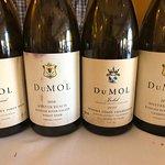Testing DuMol wine