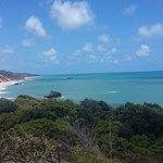 Vista da chegada à Praia de Tambaba