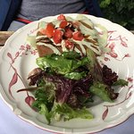 Sultan's crepe with side salad