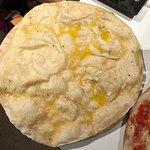 Garlic and rosemary pizza bread