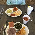 Meat & 2, The incredible Mr. Don, soul food, me & proprietor Don, mm mm good, Magnolia 23 exteri