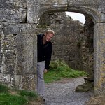 Arched corridor of Rock of Dunamase