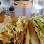 had the fish tacos, they were yummy!