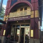 The Old City Bank building is heritage listed.