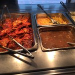 BBQ Chicken, Mac & Chesee and Brown Gravy
