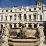 The fountain ⛲