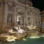 Bild från Fontana di Trevi