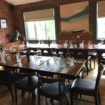 Feel free to use our private dining room to celebrate your special occasion