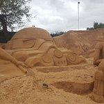 Bild från FIESA - International Sand Sculpture Festival
