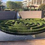 Beautiful garden at Getty center
