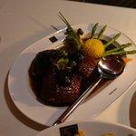 Marbling pork Phuket style.