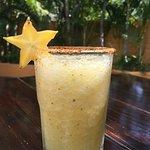 Star fruit mezcal daiquiri