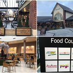 East Midlands Designer Outlet: food court.