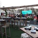 El lugar para cenar al aire libre