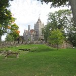 Boldt Castle on Heart island. Nice 2hr stop of the 5hr cruise.