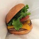 Simple but satisfying burger