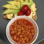 Breakfast option for Vegetarians