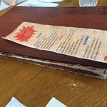 tattered menu