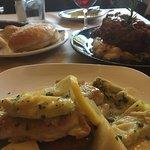 Chicken Piccata and Pork Osso Bucco