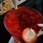 Caipirinha de vodka com morangos