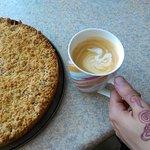 Café Latte meets Apple crumble.
