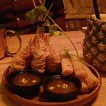 Rouleaux Bangkok / crevettes croustillantes