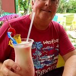 Mango colada, the drink, not the husband