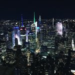 Photo of New York at night