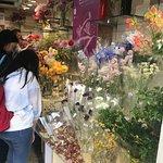 mais flores....