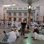 صورة فوتوغرافية لـ المسجد النبوي