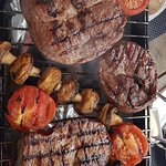 Mix steaks